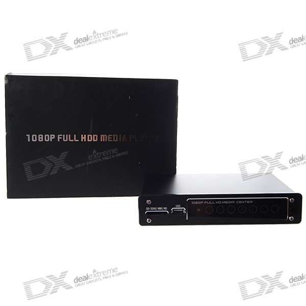 P8000 + 1080P RM / RMVB Full HD Media Center с DTS/H.264 HDMI IN / USB / SDHC