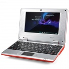 "WM-8880-MID 7.0"" Screen Android 4.2 Netbook w/ Wi-Fi / RJ45 / Camera / HDMI / SD Card Slot - Red"