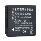 Panasonic DMW-BCF10E Compatible 3.7V 940mAh Battery Pack for Panasonic FS6/FS7/FS15 + More