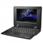 "WM-8880-MID 7.0"" Screen Android 4.2 Netbook w/ Wi-Fi / RJ45 / Camera / HDMI / SD Card Slot - Black"