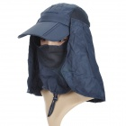 Maleroads MLS12037 Outdoor Sports Dacron Quick-Dry Hat w / Abnehmbare Schal + Mask (Free Size)