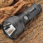 COURUI L2 600lm 3-Mode White Flashlight - Black (1~3 x 18650)