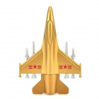 Airplane Shaped Aluminum Alloy USB Flash Drive - Golden (16GB)