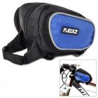 FJQXZ Outdoor Sports Cycling Nylon Top Tube Bag - Black + Blue