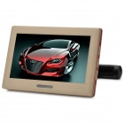 "FRS-988 9"" Screen Headrest DVD Player w/ FM / IR Transmitter, AV, USB, SD - Beige + Black"