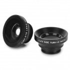 LX-C301 0.67X 3-in-1 Wide Angle + Fish Eye + Macro Lens for Iphone / HTC / Samsung + More - Black