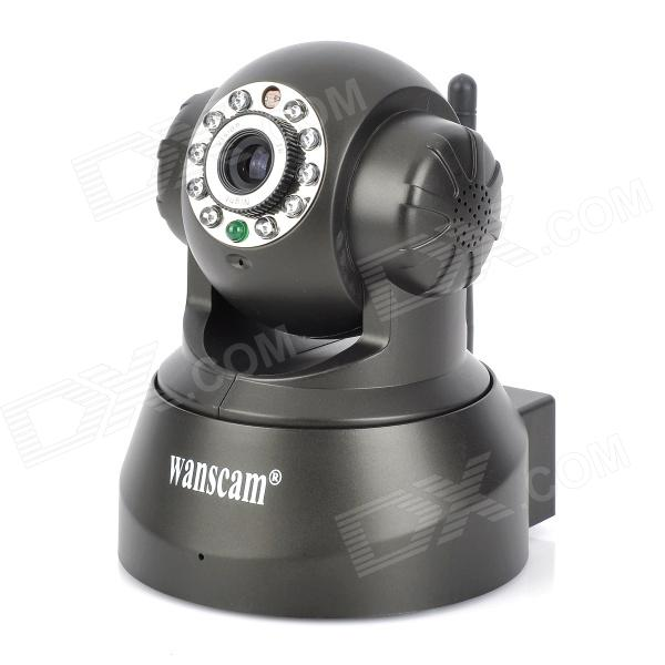 Wanscam JW0008 Wireless 300KP IP Camera w/ 10-IR LED / Wi-Fi - Black
