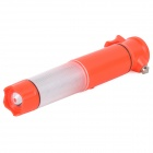 Multifunction Safety Warning Light w/ Hammer / Seat Belt Cutter / Flashlight / Magnetic Base