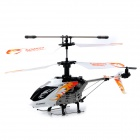 DFD F106 USB Rechargeable 4-CH R/C Helicopter w/ Gyroscope - White + Black