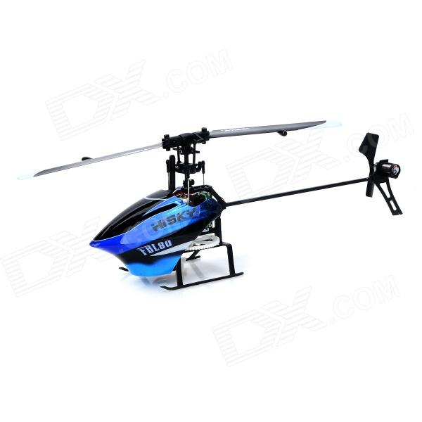 Hisky BL80 USB Rechargeable 6-CH R/C Helicopter w/ Gyroscope - Blue + Black