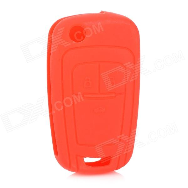 gel175 Car Keychain Silicone Cover for Chevrolet Cruze - Red коаксиальная автоакустика pioneer ts 1302i
