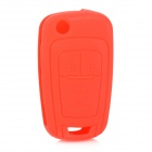 gel175 Car Keychain Silicone Cover for Chevrolet Cruze - Red