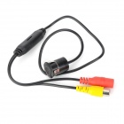 Mini 170° Wide Angle CMOS Waterproof Car Parking Rearview Camera - Black