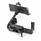 B - 4G 360 graders roterende bil bakspeilet Mount holderen for Iphone 5C - svart