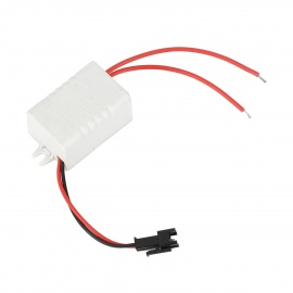 3W 300mA LED Power Driver Supply for Ceiling Lamp - White (AC 85~265V)
