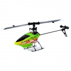 Hisky FBL100 USB Rechargeable 6-CH R/C Helicopter w/ Gyroscope - Green + Black