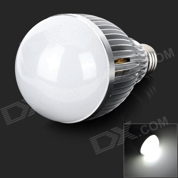 TOPLE E27 12W 490lm 7500K 1-LED White Bulb - White (AC 100~240V) industrial air bottle glass chandelier creative personality cafe restaurant bar counter clothing store lighting lamps