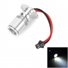 SHANPU 004 3W 120lm 6000K 1-LED White Light Spotlight - Silber (AC 85 ~ 265V)