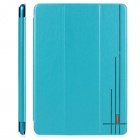 USAMS IPAXK02 Protective PU Leather Case Cover Stand for Ipad AIR - Light Blue