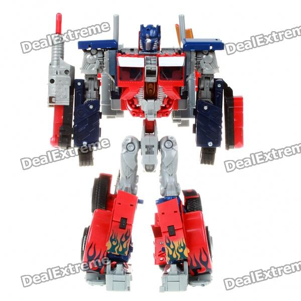 Sport Car Transformer Robot Model - Optimus Prime