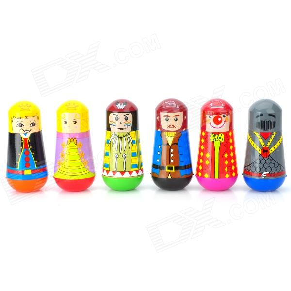 Royal Palace Cartoon Characters Pattern Watercolor Pens & Roller Stamps Set (6 PCS) от DX.com INT
