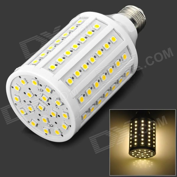 KX KX-262YMD E27 15W 1800lm 102-SMD 5050 LED Warm White Light Bulb (AC 220V) ce emc lvd fcc commercial ozonizer multi function ozone sterilizer