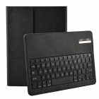 Wireless Detachable Bluetooth V3.0 64-Key Keyboard w/ PU leather Case for iPad Air - Black