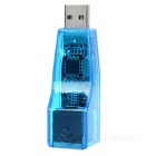 KY-RD9700 USB 10/100 RJ45 Ethernet Network Adapter Dongle - Blue