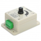 12~24V 8A PWM Single Color Manual Dimmer for LED Light Strip - Beige