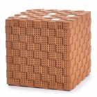BR12-BN Magic Cube Style Bluetooth V3.0 Hi-Fi Mega Bass Speaker w/ Handsfree - Brown