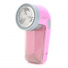 SHENGFA RSCX-901 Electric Fuzz / Lint Remover / Trimmer for Wool Sweater / Scarf + More - Pink