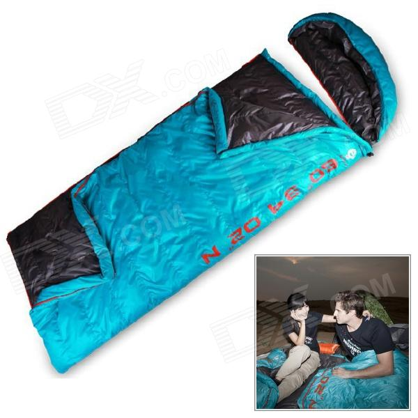 Highrock N2320911530 Rectangle Shaped Camping Polyester Duck Down Sleeping Bag