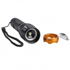 SingFire SF-706A 750lm 5-Mode White Zooming LED Flashlight - Black + Golden