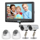 "FondVision DVR700 7"" Touch Screen All-in-one DVR w/ 4 x Cameras / HDMI / RJ45"