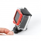 High Precision CNC Aluminum Alloy Lens Strap Ring for GoPro Hero 3+ - Red