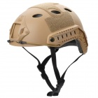 Fire-Maple SW28888 Outdoor Tactical Motorcycling / Wild Game ABS Helmet - Khaki