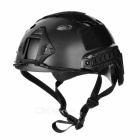 SW8888 Outdoor Tactical Motorcycling / Wild Game ABS Helmet - Black