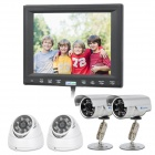"FondVision DVR800 8"" Touch Screen All-in-one DVR w/ 4 x Cameras / HDMI / RJ45"