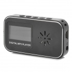 "KD-XINKUAN-DAIPING-01-HEISE 1.1"" LCD MP3 Player w/ TF / Mini USB / 3.5mm Jack - Black"
