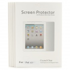 High Quality PET Protective Screen Protectors for Ipad AIR - Transparent (5PCS)