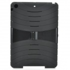 High Quality Protective Plastic Case w/ Stand for Ipad AIR - Black