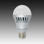 LI-CECI E27 A19/A60 7W 630lm 6000K 14 x SMD 5630 LED White Light Lamp Bulb - (AC 220~240V)