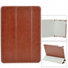 Stylish Protective PU Leather Case w/ Auto Sleep for Ipad AIR - Brown