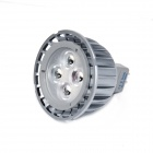 LI-CECI MR16 5W 480lm 6000K 4-LED Cool White Light Spotlight - Silver Gray (DC 12~24V)