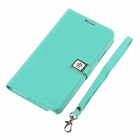Ailun Protective PU Leather + TPU Case Cover w/ Card Slot for Samsung Galaxy Note 3 N9000 - Green