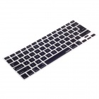 XSKN 799223332H03 Protective Silicone Keyboard Cover for Macbook - Black