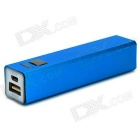 DD67 Portable Mini Power Bank Case Enclosure w/ LED Indicator for Iphone 5C / 5s / 5 / 4 / 4s - Blue