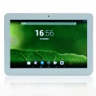 "Havit HV-T1045 10.1 ""Quad-Core Android 4.1 Tablet PC w / 1 GB RAM, 16 GB ROM - Weiß + Silber"