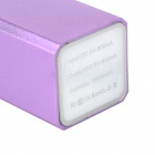 DD67 Mini Power Bank Caso cerco w / Indicador LED para Iphone 5C / 5s / 5 ( 1 x 18650 )
