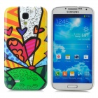 A-5565 Cartoon Patterned Plastic Back Case for Samsung Galaxy S4 i9500 - Multicolored